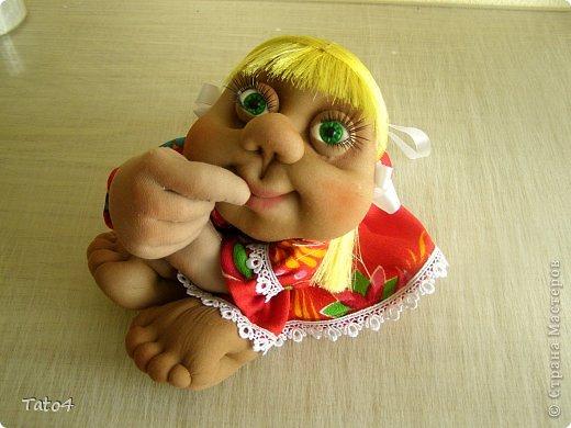 Анфиса - кукла на удачу)