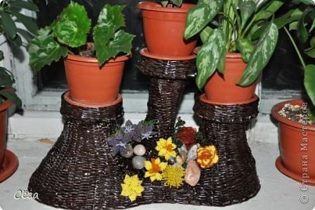 С декором из цветочков (бисер)
