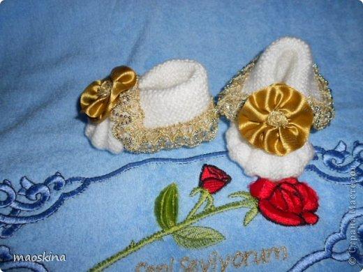 Нарядные пинетки для юной принцессы  фото 2