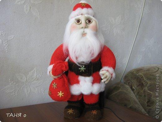 Дед Мороз и девочка-припевочка   фото 1