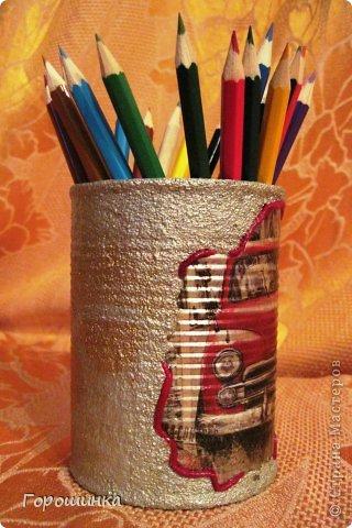 Эта карандашница сделана по просьбе моего сына в дополнение к его основному подарку на День рождения фото 4