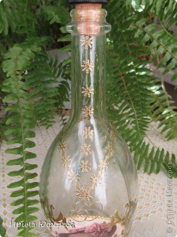 Декупаж бутылок фото 3