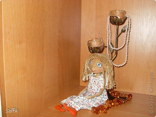 Вот такая смешная  куколка у меня пошилась уже очень давно. Есть прототип. фото 1