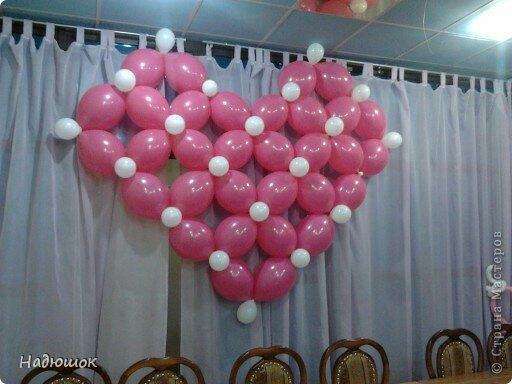 Сердце из воздушных шаров своими руками пошаговое фото - Opalubka-Pekomo.ru