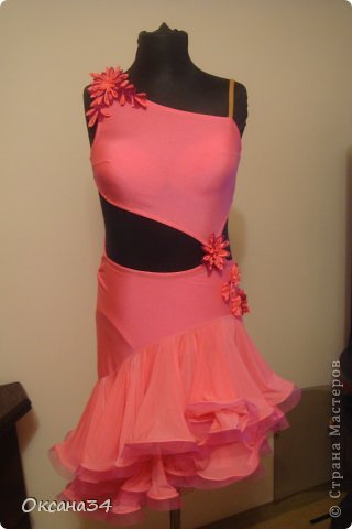 Платье для латины своими руками мастер класс