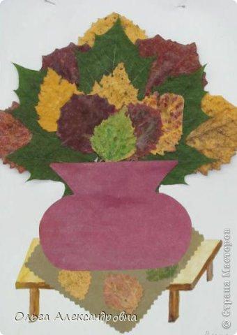 """Осень на дворе. И проект наш называется """"Осенние мотивы"""". Во время проекта будем рассказывать стихи про осень, покажем ее красоту в рисунках и, конечно же, в поделках. Вот, постепенно, пополняется наша выставка. фото 9"""