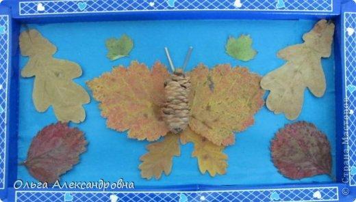 """Осень на дворе. И проект наш называется """"Осенние мотивы"""". Во время проекта будем рассказывать стихи про осень, покажем ее красоту в рисунках и, конечно же, в поделках. Вот, постепенно, пополняется наша выставка. фото 10"""