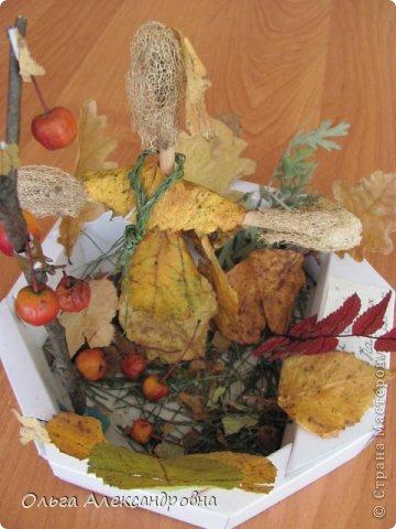 """Осень на дворе. И проект наш называется """"Осенние мотивы"""". Во время проекта будем рассказывать стихи про осень, покажем ее красоту в рисунках и, конечно же, в поделках. Вот, постепенно, пополняется наша выставка. фото 11"""