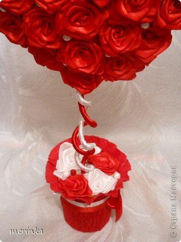 Топиарий ко дню Св. Валентина - Своими руками