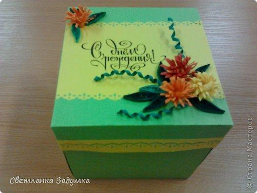"""Эта работа была на заказ. попросили подарочек на день рождения парочки """"львов"""" по  гороскопу - и вот такая получилась у меня коробочка цветочки на крышки делала по мк здесь https://stranamasterov.ru/node/168145"""