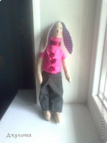 Моя Мотильдочка, сшита на подарок крестной мамуле, она всегда первой оценивает мои работы )) фото 5