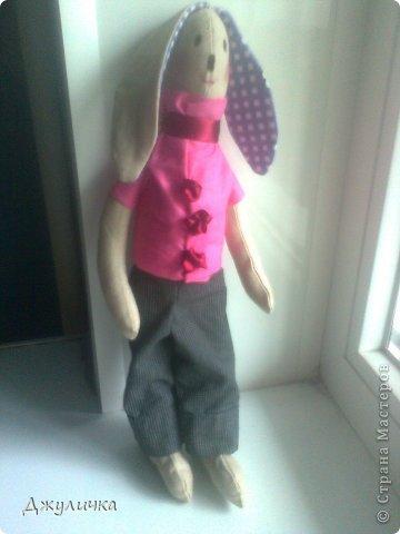 Моя Мотильдочка, сшита на подарок крестной мамуле, она всегда первой оценивает мои работы )) фото 4