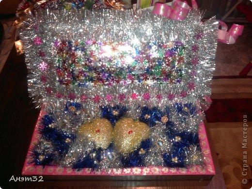 Шкатулка для Любимого мужа на Новый год!! фото 1