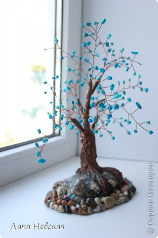 Бонсай топиарий Бисероплетение Мои деревья из бисера Бисер фото 3.