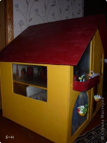 Вот такой домик,я построила дочке, по чертежам из интернета ))) фото 31