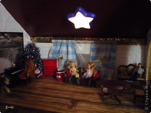 Вот такой домик,я построила дочке, по чертежам из интернета ))) фото 33