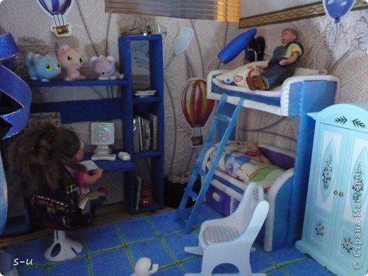 Вот такой домик,я построила дочке, по чертежам из интернета ))) фото 37