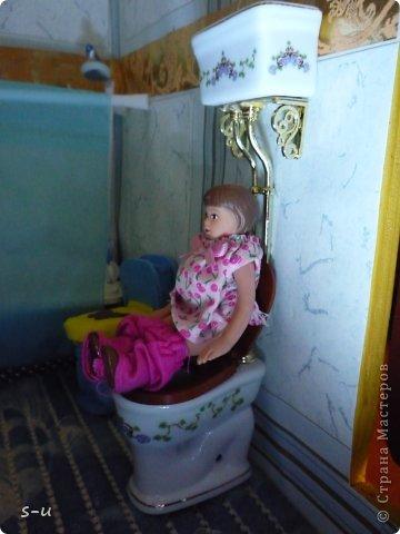 Вот такой домик,я построила дочке, по чертежам из интернета ))) фото 34
