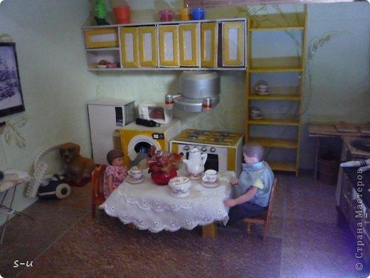 Вот такой домик,я построила дочке, по чертежам из интернета ))) фото 38