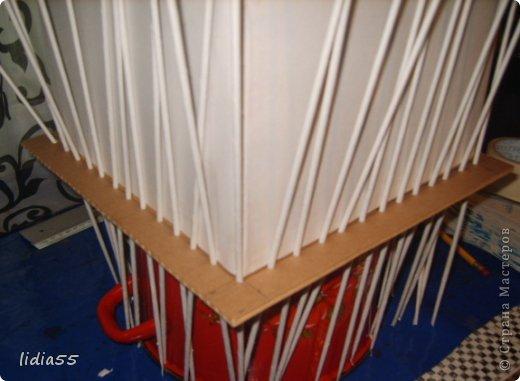 Мастер-класс Поделка изделие Плетение копилочка Бумага газетная Трубочки бумажные фото 12