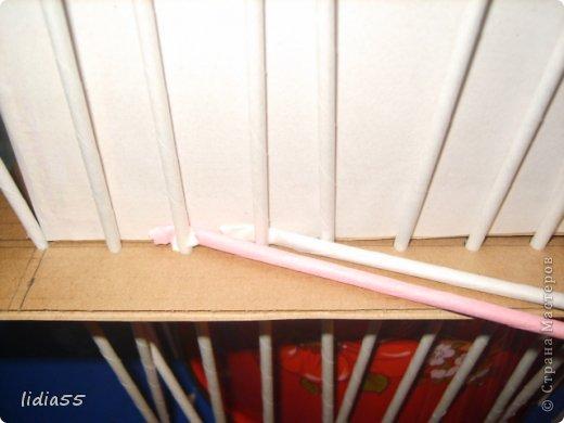 Мастер-класс Поделка изделие Плетение копилочка Бумага газетная Трубочки бумажные фото 13