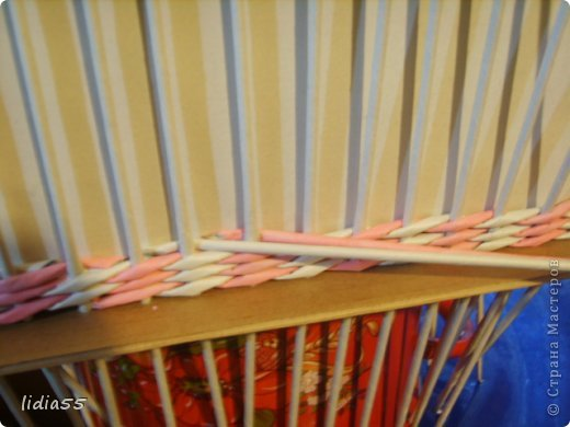 Мастер-класс Поделка изделие Плетение копилочка Бумага газетная Трубочки бумажные фото 14