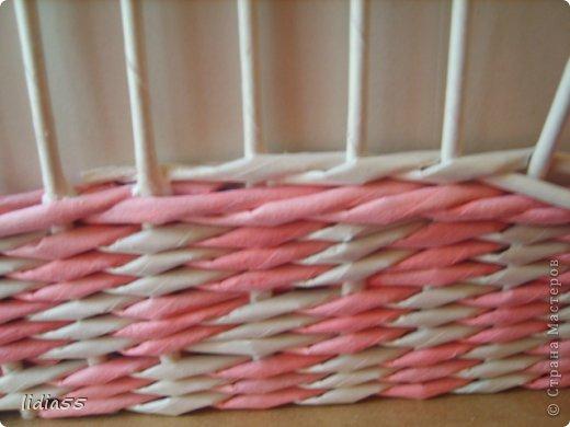 Мастер-класс Поделка изделие Плетение копилочка Бумага газетная Трубочки бумажные фото 15
