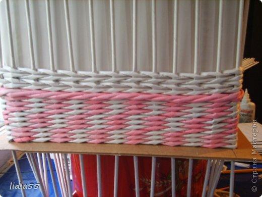 Мастер-класс Поделка изделие Плетение копилочка Бумага газетная Трубочки бумажные фото 16