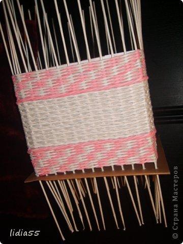 Мастер-класс Поделка изделие Плетение копилочка Бумага газетная Трубочки бумажные фото 17