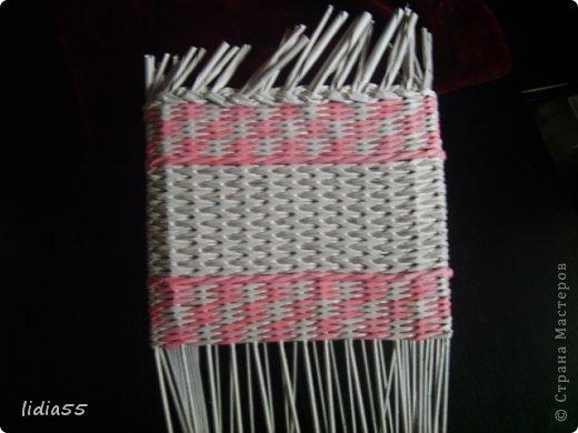 Мастер-класс Поделка изделие Плетение копилочка Бумага газетная Трубочки бумажные фото 19