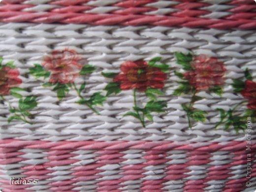 Мастер-класс Поделка изделие Плетение копилочка Бумага газетная Трубочки бумажные фото 20