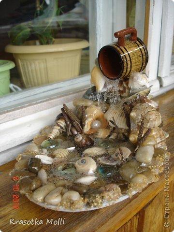 попробовала собрать свои запасы и слепить мини-водопадик))) фото 4