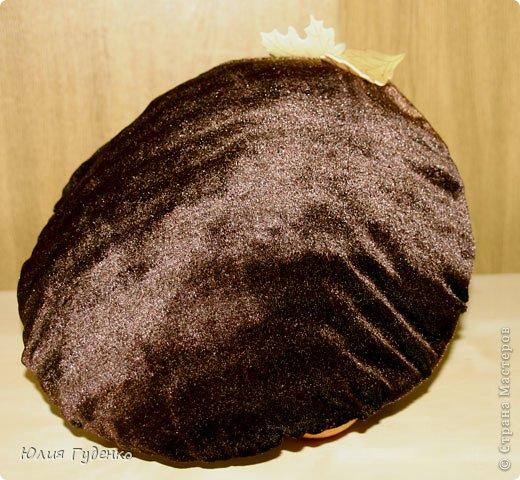 Здравствуйте! В детском саду попросили сшить для утренника шляпку гриба. Вот шляпа и готова, но пока её обладатель спит, примерим на леопарда, который любезно согласился побыть моделью. фото 18