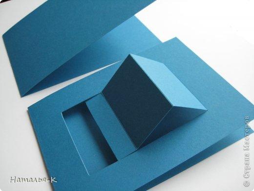Мастер-класс Открытка День рождения Аппликация Квиллинг Открытка Бумажные полосы Картон фото 3