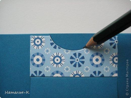 Мастер-класс Открытка День рождения Аппликация Квиллинг Открытка Бумажные полосы Картон фото 5