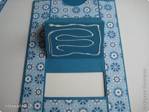 Мастер-класс Открытка День рождения Аппликация Квиллинг Открытка Бумажные полосы Картон фото 12