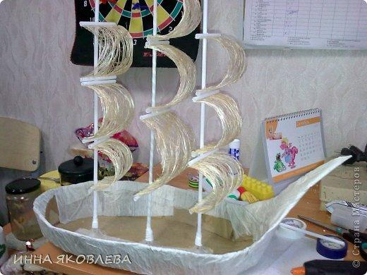 Корабль своими руками из картона мастер класс для начинающих