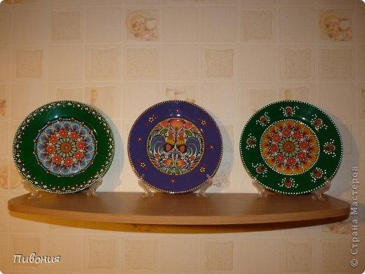 В продолжение первой тарелки, которую выкладывала ранее, творила продолжение...  фото 11