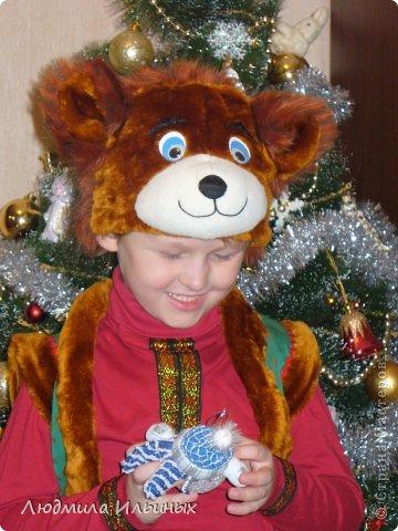 Сшить костюм медведя на новый год