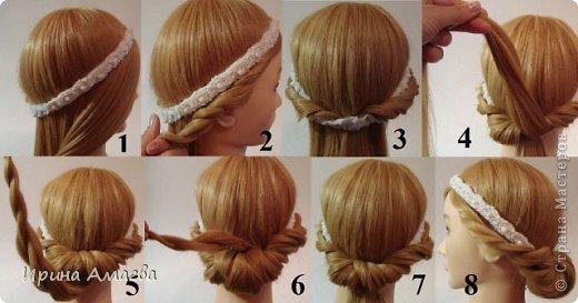 Прически на средние короткие волосы своими руками