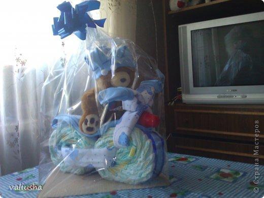 Подарок из памперсов своими руками с фото