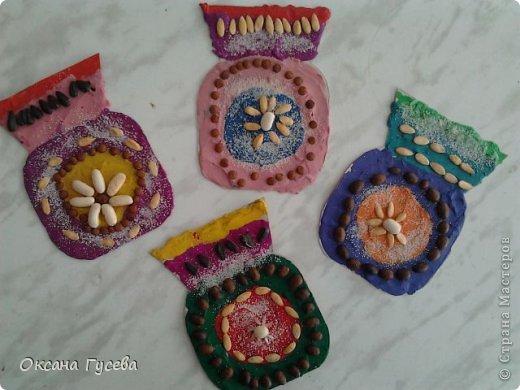 Попробуйте сделать вазочки для мамочки !  фото 9