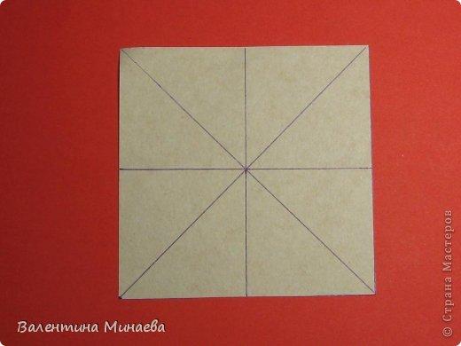 Кусудама Магнит (Magnet)  автор - Валентина Минаева (Valentina Minayeva) 30 модулей размер бумаги: 10 х 10 см, итог - 12 см без клея, бумагу необходимо брать ПЛОТНУЮ, которая хорошо держит складку! фото 4