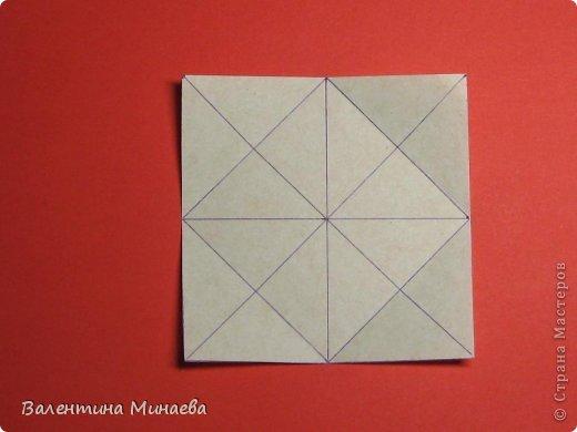 Кусудама Магнит (Magnet)  автор - Валентина Минаева (Valentina Minayeva) 30 модулей размер бумаги: 10 х 10 см, итог - 12 см без клея, бумагу необходимо брать ПЛОТНУЮ, которая хорошо держит складку! фото 6