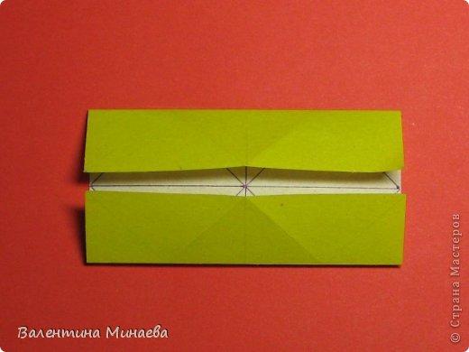 Кусудама Магнит (Magnet)  автор - Валентина Минаева (Valentina Minayeva) 30 модулей размер бумаги: 10 х 10 см, итог - 12 см без клея, бумагу необходимо брать ПЛОТНУЮ, которая хорошо держит складку! фото 7