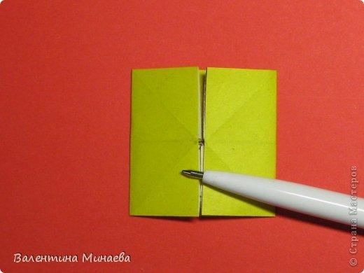 Кусудама Магнит (Magnet)  автор - Валентина Минаева (Valentina Minayeva) 30 модулей размер бумаги: 10 х 10 см, итог - 12 см без клея, бумагу необходимо брать ПЛОТНУЮ, которая хорошо держит складку! фото 9