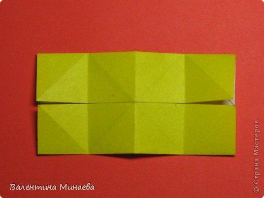 Кусудама Магнит (Magnet)  автор - Валентина Минаева (Valentina Minayeva) 30 модулей размер бумаги: 10 х 10 см, итог - 12 см без клея, бумагу необходимо брать ПЛОТНУЮ, которая хорошо держит складку! фото 10