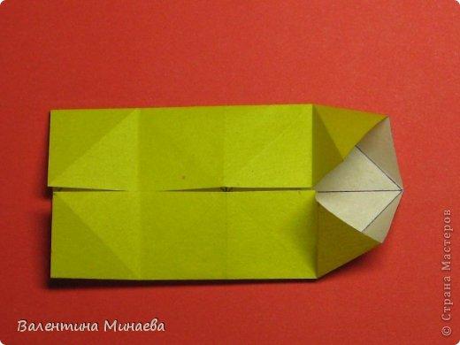 Кусудама Магнит (Magnet)  автор - Валентина Минаева (Valentina Minayeva) 30 модулей размер бумаги: 10 х 10 см, итог - 12 см без клея, бумагу необходимо брать ПЛОТНУЮ, которая хорошо держит складку! фото 11