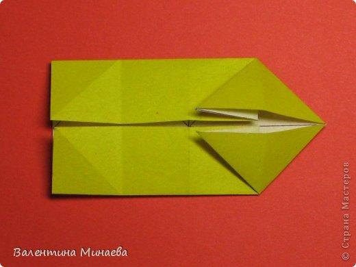 Кусудама Магнит (Magnet)  автор - Валентина Минаева (Valentina Minayeva) 30 модулей размер бумаги: 10 х 10 см, итог - 12 см без клея, бумагу необходимо брать ПЛОТНУЮ, которая хорошо держит складку! фото 12
