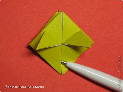Кусудама Магнит (Magnet)  автор - Валентина Минаева (Valentina Minayeva) 30 модулей размер бумаги: 10 х 10 см, итог - 12 см без клея, бумагу необходимо брать ПЛОТНУЮ, которая хорошо держит складку! фото 17